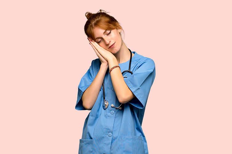 Nurse Sleeping