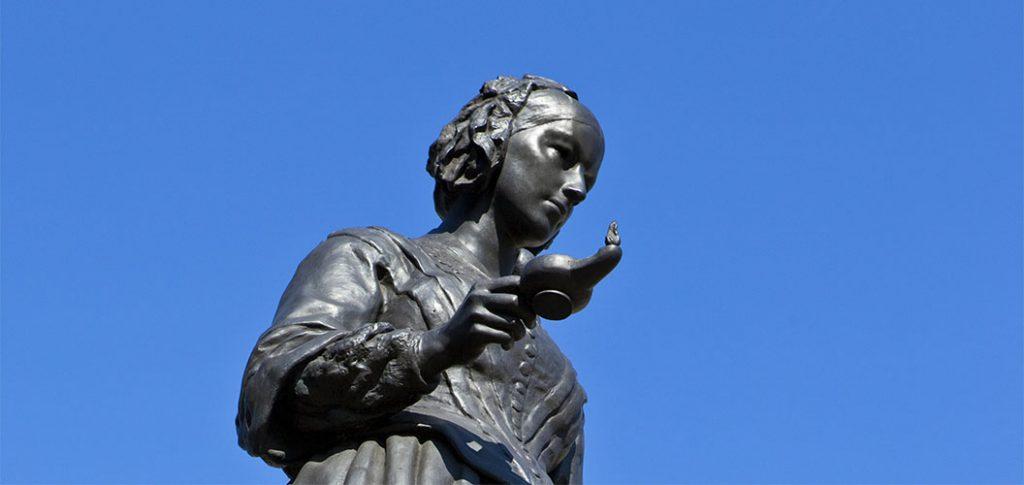 Florence Nightingale Oil lamp