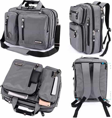 FreeBiz Laptop Bag Convertible Backpack