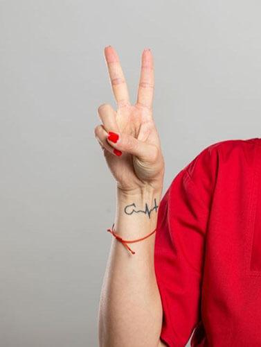 Nurse With Tattoo
