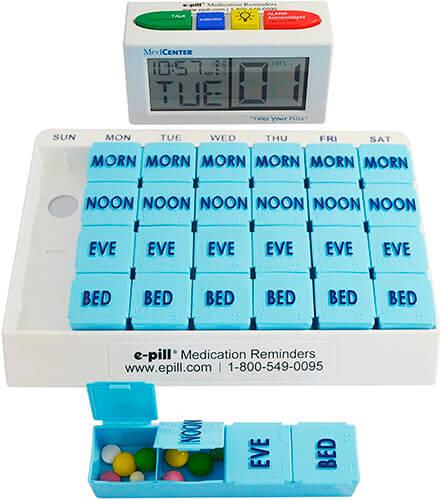 The e-Pill 4 Alarm MedCenter