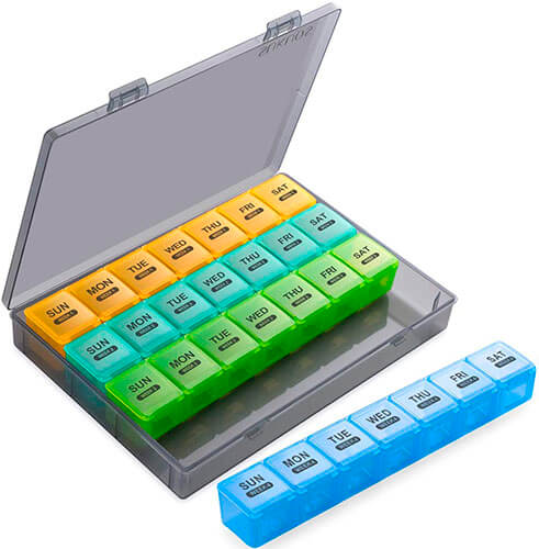 The XL Monthly Pill Organizer