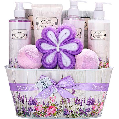 Body & Earth Spa Gift Baskets for Women