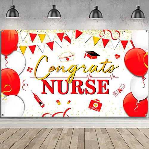 Nurses Graduation Party Banner