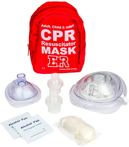 The Ever Ready First Aid CPR Mask Combo Kit