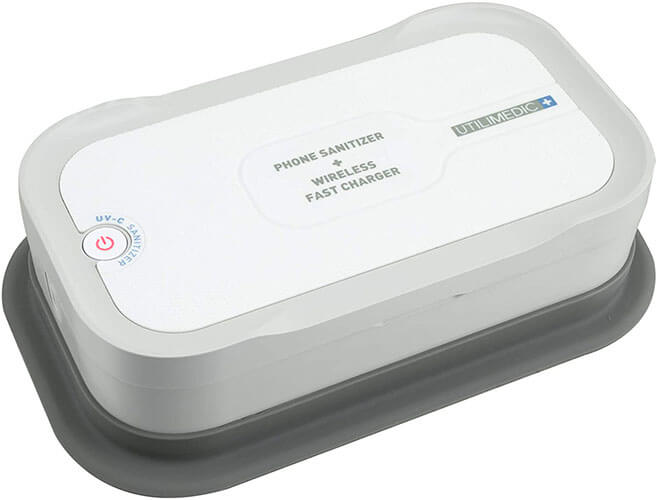 The Utilimedic Sanitizer For Cell Phone