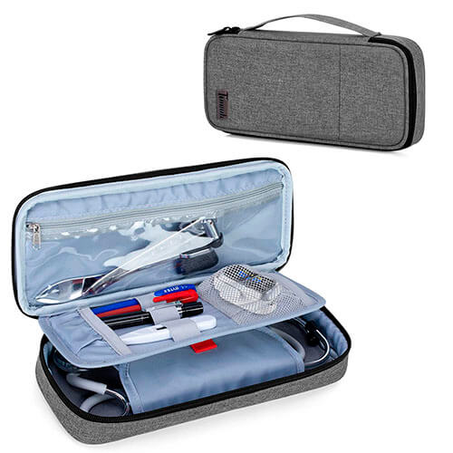 Trunab Stethoscope Case with Inner Divider