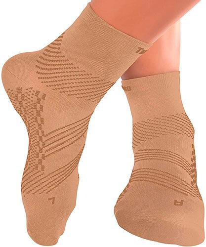 TechWare Pro Ankle Compression Socks for Plantar Fasciitis