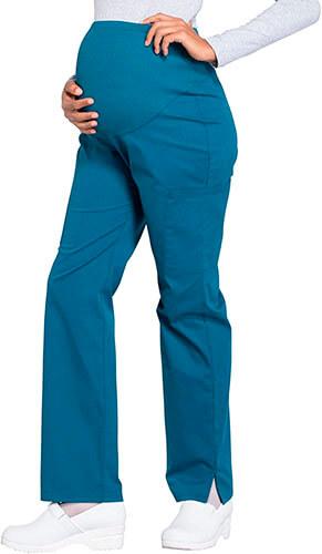 Cherokee Workwear Maternity Women Scrubs Pant Straight Leg