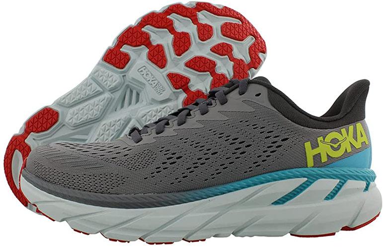 HOKA ONE ONE Men's Clifton 7 Edition Running Shoe For Male Nurses