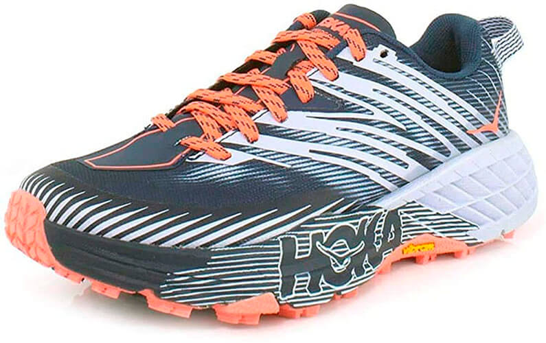 HOKA ONE ONE Women's Speedgoat 4th Edition Textile Synthetic Trainers